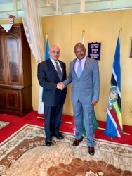 CVMR® Delegation from Canada and China Visit Burundi