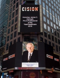 James C. Ascough, Ph.D. Honored as a Top Executive for 2018 and Recognized on the Reuters Billboard in Times Square by Strathmore's Who's Who Worldwide Publication