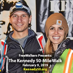Relive the Kennedy 50-Mile Hike with the FreeWalkers