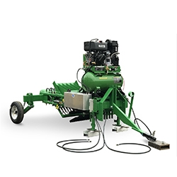 Introducing the Geiger-Lund Model 2019 Selective Asparagus Harvester