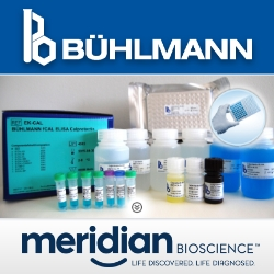 BUHLMANN Diagnostics Corp. Announces New Distribution Agreement with Meridian Biosciences, Inc.