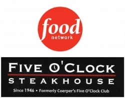 "Food Network Names Five O'Clock Steakhouse Wisconsin's Best on ""50 States of Steakhouses"