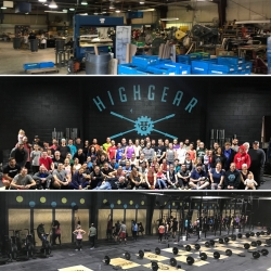HighGear Converts Outdated Factory Into State of the Art Gym in 37 Days
