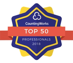 Elliot Kravitz, ATP Selected as a Top 50 Tax Professional for 2018 by CountingWorks