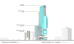 PONTE HEALTH Opens First Bid for VERTICAL MEDICAL CITY Naming Privileges in Downtown Orlando
