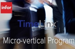 TimeLinx Accepted Into Infor's Micro-Vertical Product Program