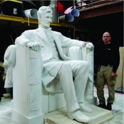 Uniquely DC - Maryland Event Production Company Creates World's 2nd Largest Sitting Lincoln Statue for Events and Educational Programs