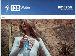 138 Water Launches Its Online Store Exclusively on Amazon Prime