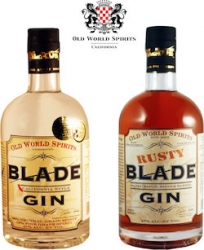 California's Old World Spirits Distillery Receives Two Gold Medals for Blade Gin and Rusty Blade Gin at the 2019 World Gin Awards Competition in London