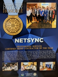 Netsync Earns Professional Services Certified Prime Contractor of the Year