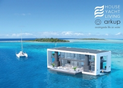 House Yacht Living Showcases Next-Generation Floating Home, Arkup #1 with Extravagant 5-Night Private Showing on Star Island