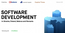 Software Development Report by AVentures Capital, Aventis Capital and Capital Times Names Eastern Europe Among Top-5 Software Development Hubs