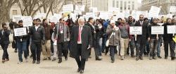 The Republican Hindu Coalition (RHC) Lead More Than 500 in Solidarity at Grassroots Immigration Rally in Front of the White House on February 10th 2019