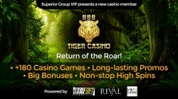 Superior Group Acquires 888 Tiger Casino