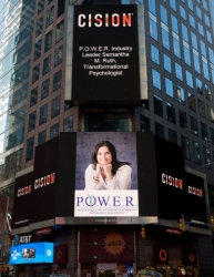 Samantha M. Ruth, Transformational Psychologist Showcased on the Reuters Billboard in Times Square by the Professional Organization of Women of Excellence Recognized