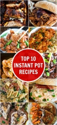 SweetandSavoryMeals.com Announces 5 Best Instant Pot Recipes to Make During Busy Weekdays