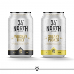 Wheeler's Raid Launches 34 North Ready-to-Drink Craft Cocktails in Middle Tennessee