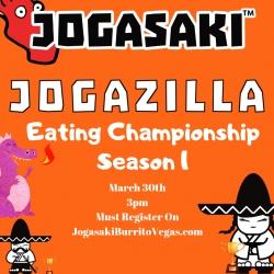 Announcing the JOGAZILLA Sushi Burrito Eating Championship Season 1
