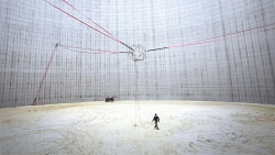 The Yjumper Project - New Prototype Creates a Massive Trampoline Effect in a Shut Down Cooling Tower