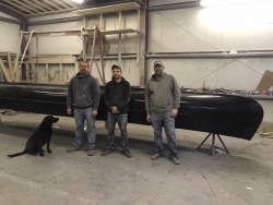 Dirigo Custom Boatworks Builds Canoe for Injured Veterans