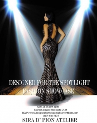Bridal & Formal by Sira D' Pion Presenting Designed for the Spotlight Fashion Showcase Grand Opening Celebration