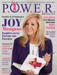 Tonia DeCosimo Showcases the Innovative Joy Mangano for the Spring 2019 Issue of P.O.W.E.R. Magazine and powerwoe.com