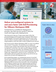 Dell Provisioning for VMware Workspace ONE Deploys Systems with No On-Site Admin Time, Principled Technologies Study Finds