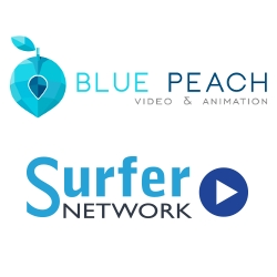 Blue Peach Media and SurferNETWORK Collaboration for Video Production and Streaming