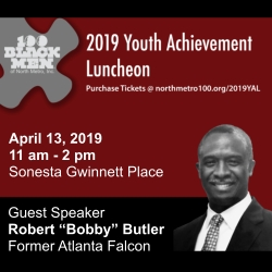 2019 Youth Achievement Luncheon Presented by 100 Black Men of North Metro, Inc.