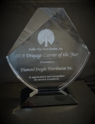 Diamond Freight Distribution Recognized for Exceptional Drayage Services