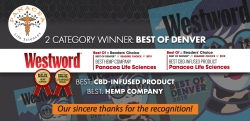 Panacea Earns Reader's Choice Award for Best Hemp Company