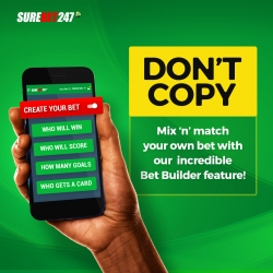 Surebet247 Bet Builder; The New Deal for Punters