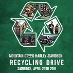 Mountain Creek Harley-Davidson to Host a Free Electronics Event for Earth Day