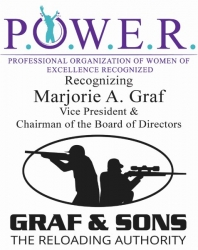 Marjorie A. Graf Recognized as a Woman of the Month for May 2019 by P.O.W.E.R. (Professional Organization of Women of Excellence Recognized)
