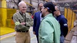 US Secretary of the Navy Honorable Richard V. Spencer Visits Fairbanks Morse's Beloit Facility