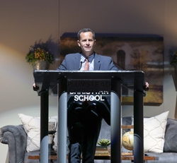 Kirk Cameron Speaks at Plumstead Christian School's Ninth Annual Founders Forum & Second Annual Multi-School Assembly
