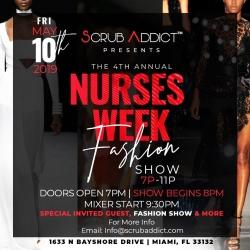Scrub Addict™ Presents the 4th Annual Nurses Week Fashion Show - Miami