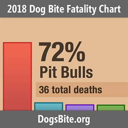 Nonprofit Releases 2018 Dog Bite Fatality Statistics and Trends from the 14-Year Data Set (2005 to 2018)
