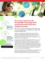 Principled Technologies Releases Study Comparing Database Performance of a Dell EMC PowerEdge R740 with 2nd Generation Intel Xeon Scalable Processors vs. an Older Server