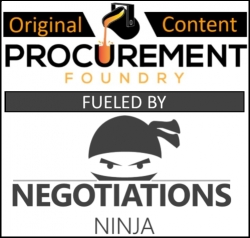Negotiations Ninja and Procurement Foundry Announce Content Partnership