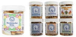 Granny's Confections Introduces Macadamia Nut Brittle.  Now Seven Great Flavors of Handmade Brittle.