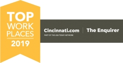 The Cincinnati Enquirer Names LeanCor Supply Chain Group a Winner of the Cincinnati Top Workplaces 2019 Award