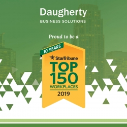 Star Tribune Names Daugherty Business Solutions a 2019 Top Workplace