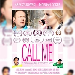 "Arek Zasowski Wins Best Romance Short Award with ""Call Me"" at the 2019 Silicon Beach Film Festival in Los Angeles, CA"