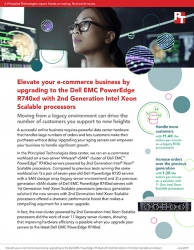 Principled Technologies Releases Comparative Content That Details the Proven Benefits of Moving e-Commerce Business to New Dell EMC PowerEdge R740xd Servers