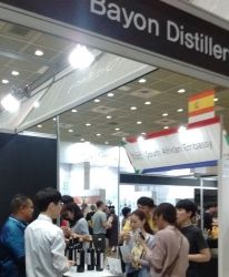 Bayon Distillery Attends the SIWS; Co-Founders Matthew Green-Hite and Rattana Em Served Over 2200 Tastings