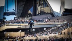 World's First Turbine JetPack Soars Over Sydney Opera House; David Mayman Returns to Make Triumphant Flight in Sydney, Australia