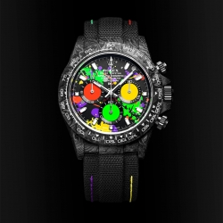 The Lightest Rolex Daytona in Carbon by DiW is Finally Here