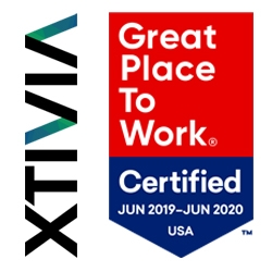 XTIVIA Earned Designation as a Great Place to Work-Certified™ Company in 2019