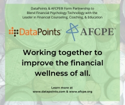 DataPoints & AFCPE® Form Partnership to Blend Financial Psychology Technology with the Leader in Financial Counseling, Coaching, & Education